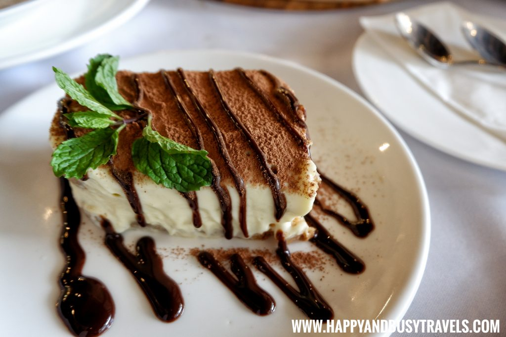 Tiramisu of Trifoglio Ristorante Fora Mall Happy and Busy Travels to Tagaytay