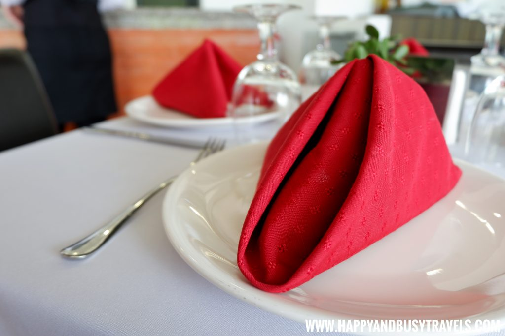 Table setting Trifoglio Ristorante Fora Mall Happy and Busy Travels to Tagaytay