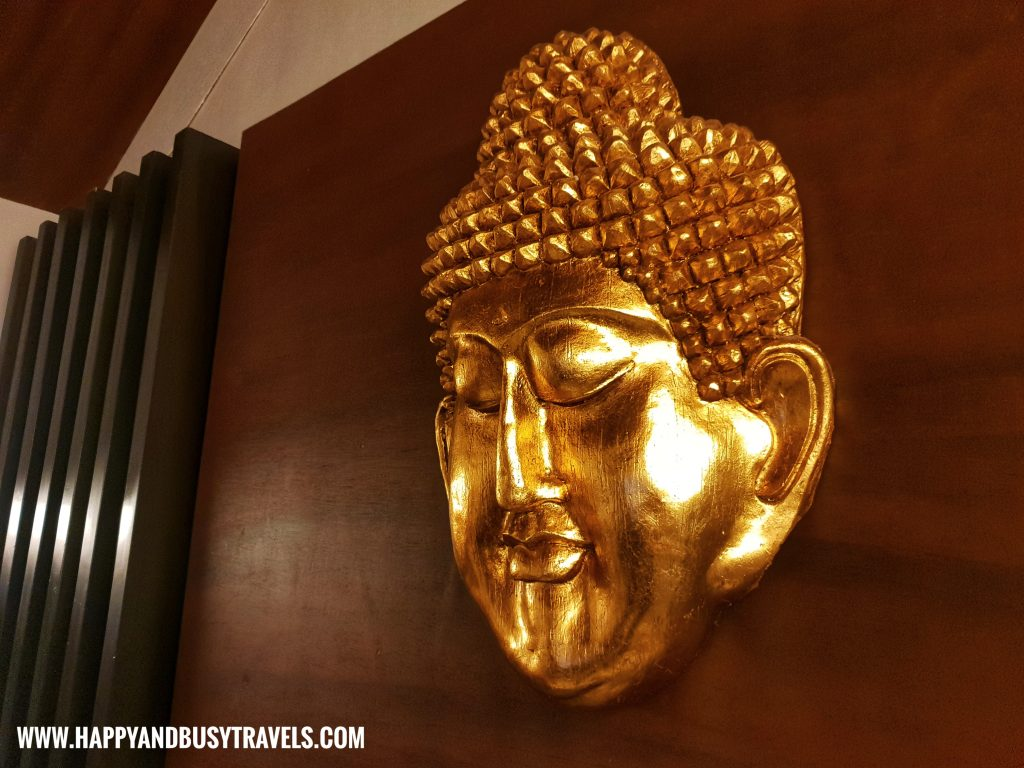 Budha face in Asian Village Tagaytay Happy and Busy Review
