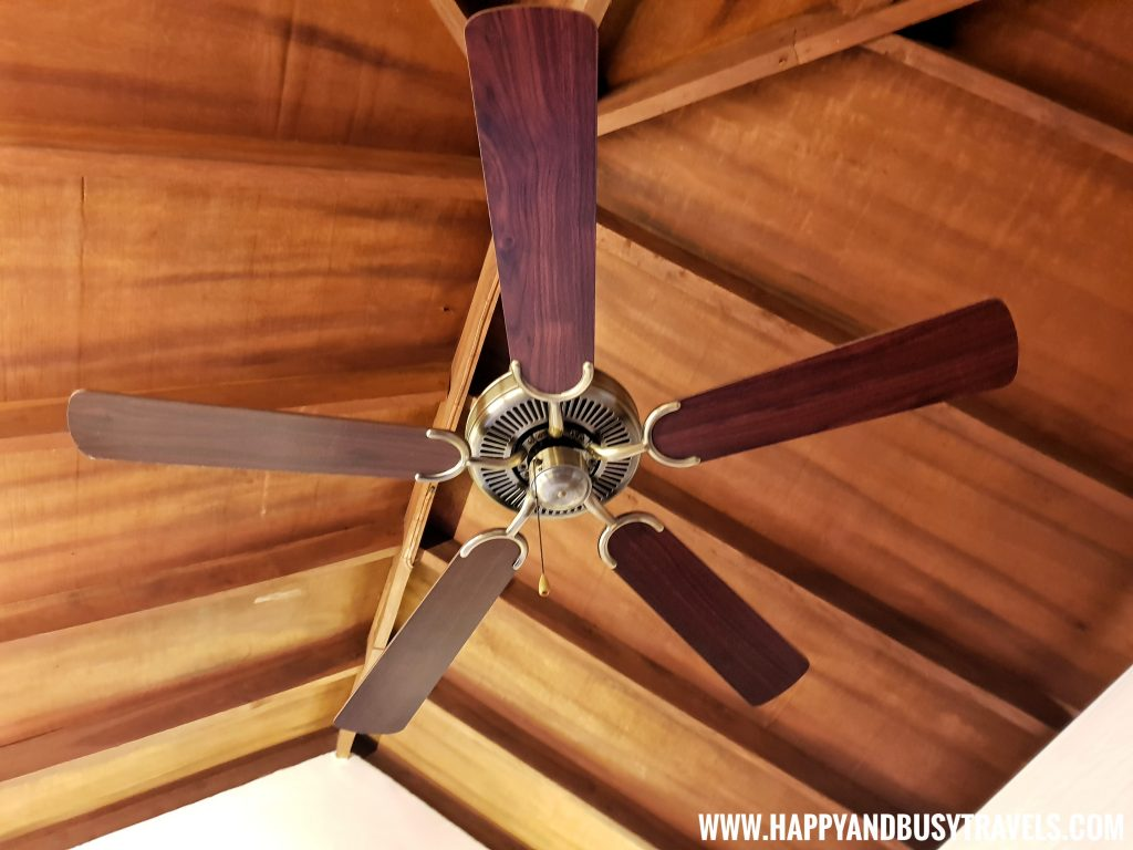 Ceiling Fan Asian Village Tagaytay Happy and Busy Review