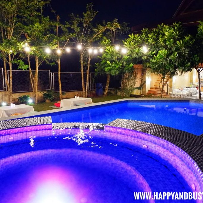 Jacuzzi at night of Asian Village Tagaytay Happy and Busy Review