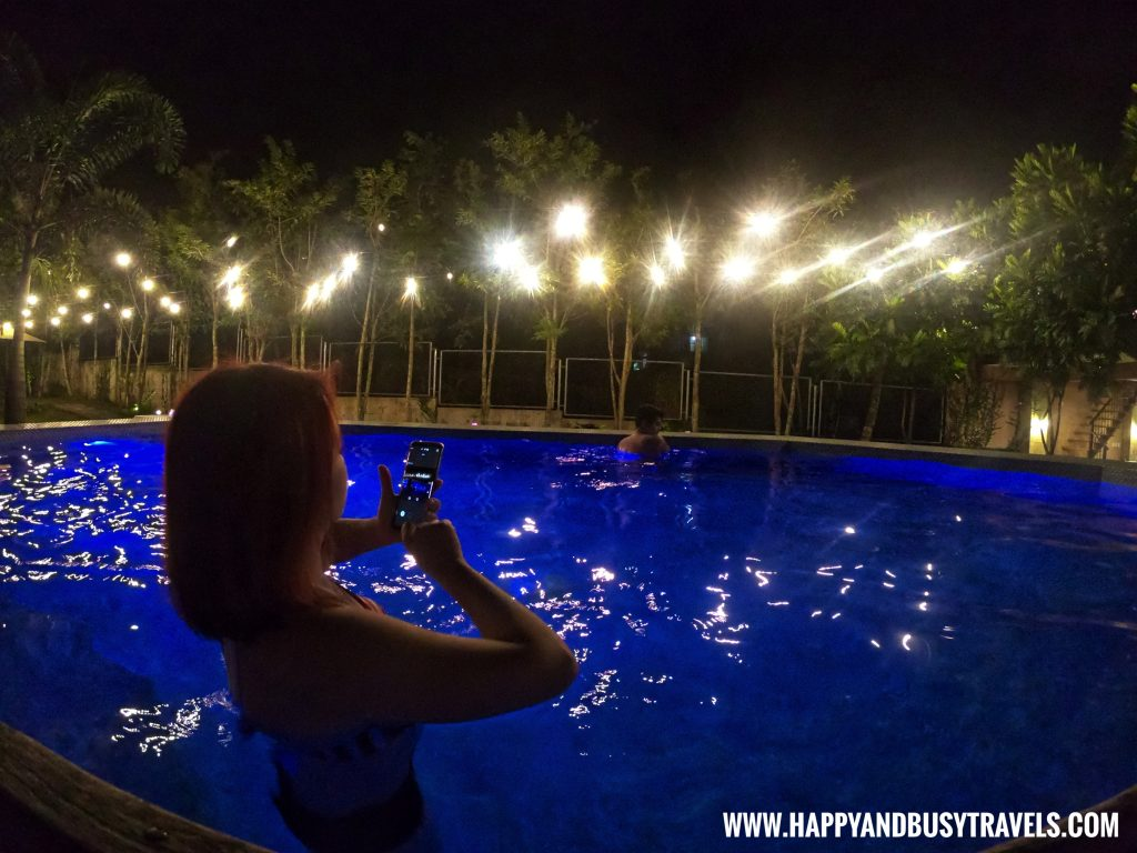 Night swimming at Asian Village Tagaytay Happy and Busy Review