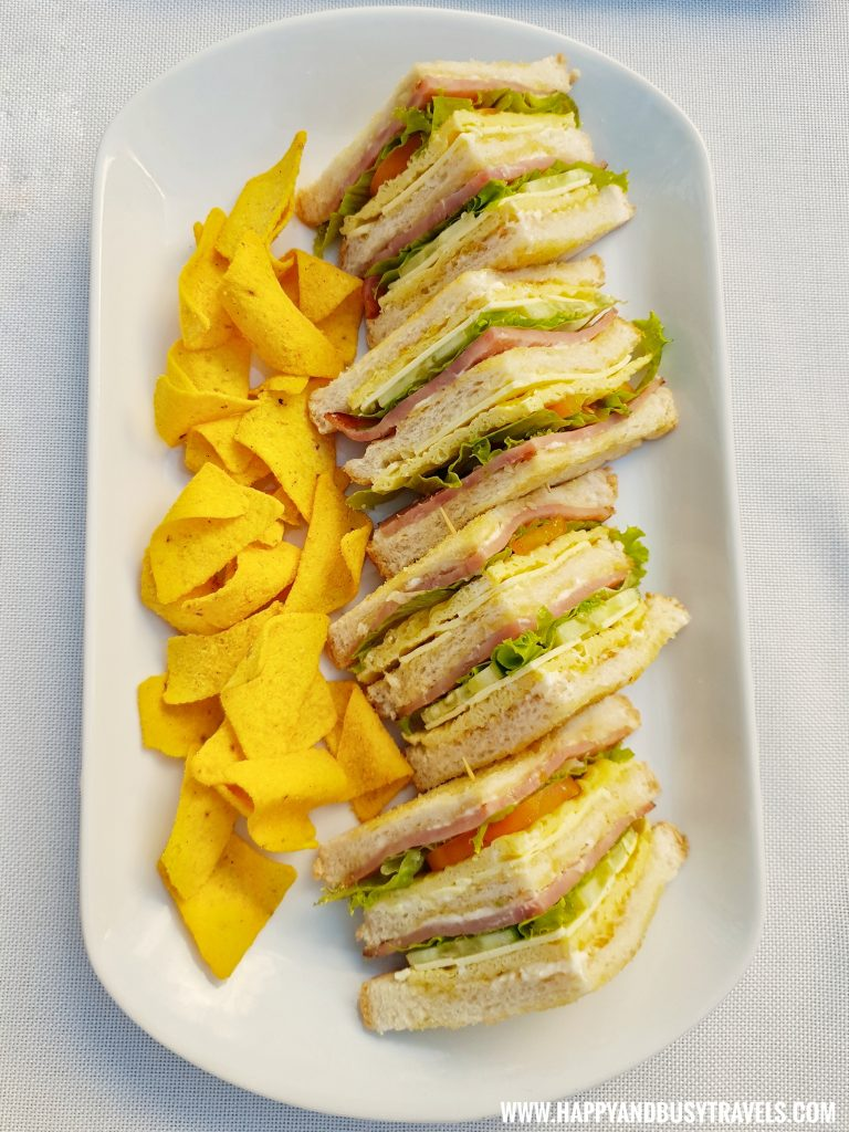 Clubhouse Sandwich from Asian Village Tagaytay Happy and Busy Review
