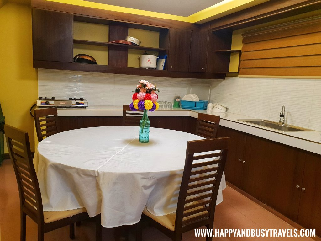 Kitchen of the main house of Asian Village Tagaytay Happy and Busy Review