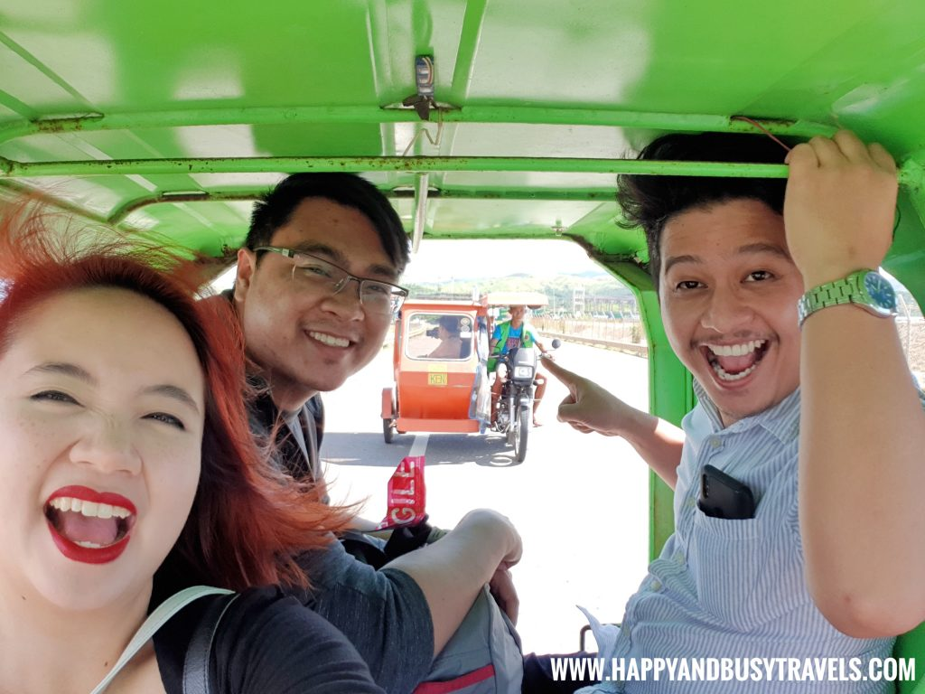 Inside the tricycle from Boracay Airport The New Caticlan Airport article of Happy and Busy Travels