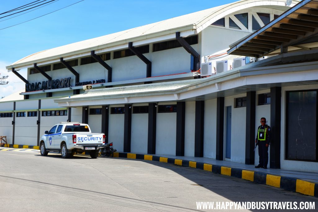 front of Boracay Airport The New Caticlan Airport article of Happy and Busy Travels