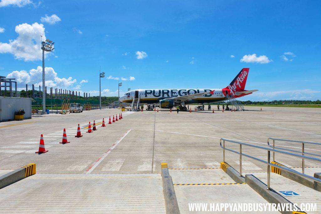 Arrival of Air Asia to Boracay Airport The New Caticlan Airport article of Happy and Busy Travels