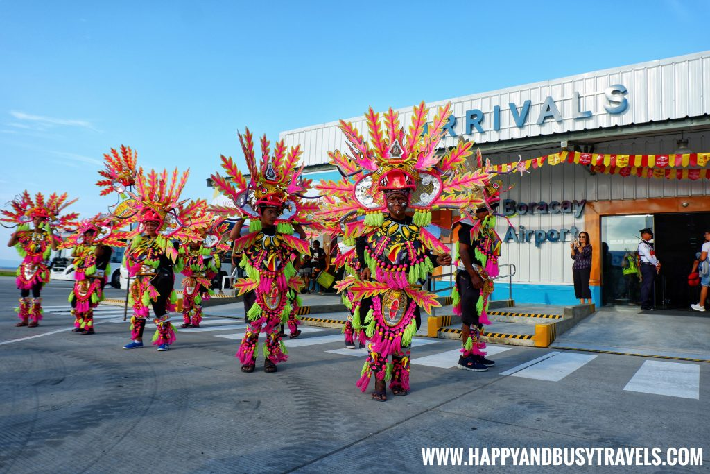 Ati Atihan Festival at the Boracay Airport the new Caticlan Airport