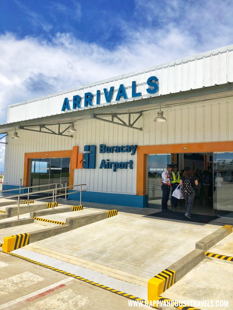 Arrival area of Boracay Airport The New Caticlan Airport article of Happy and Busy Travels