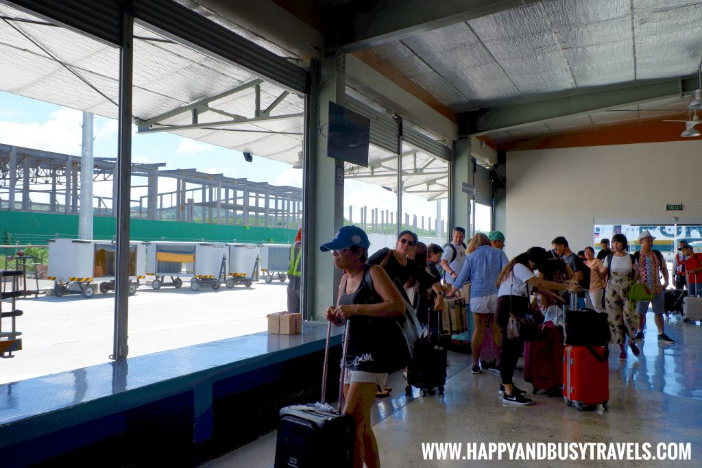 Baggage Claim Area of Boracay Airport The New Caticlan Airport article of Happy and Busy Travels