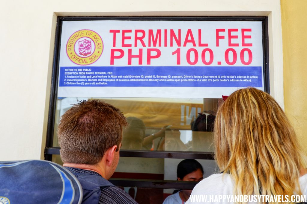 Cagban Port Terminal Fee