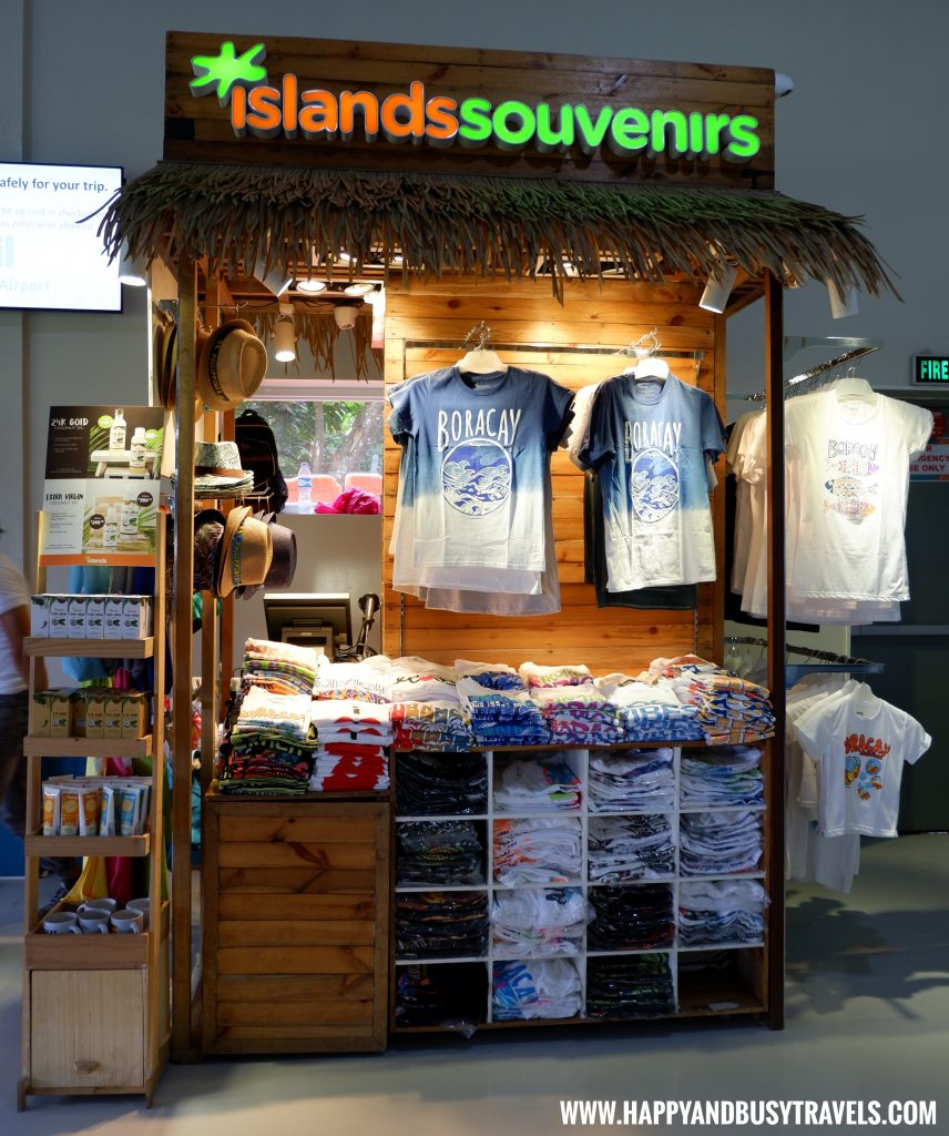 Island Souvenirs at the Boracay AIrport