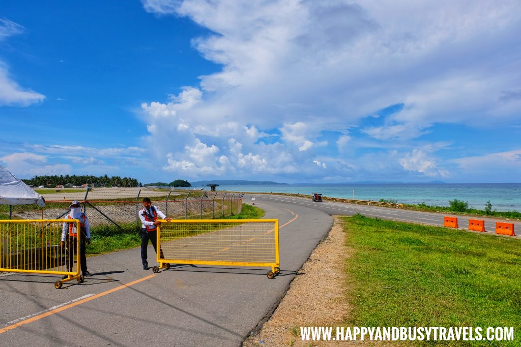 Exit of the arrival area of Boracay Airport The New Caticlan Airport article of Happy and Busy Travels