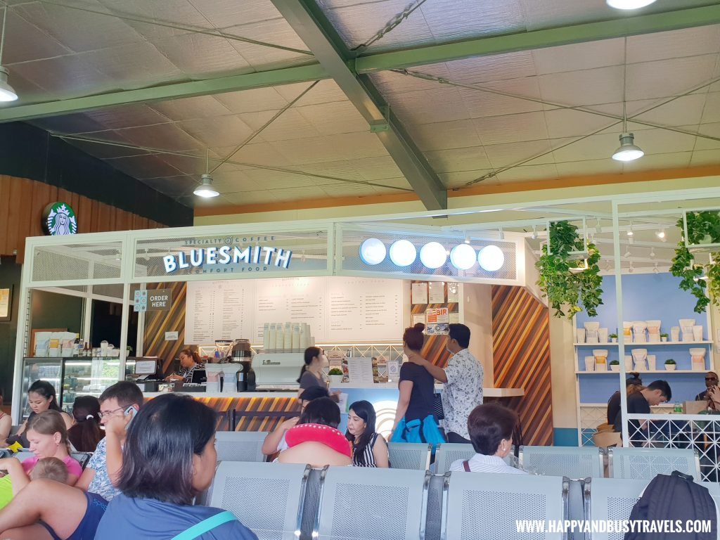 Bluesmith restaurant in Boracay Airport