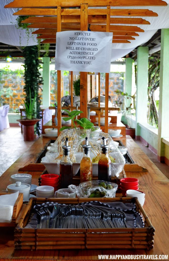 Salad Bar D' Banquet Bakeshop and Restuurant Happy and Busy Travels to Tagaytay