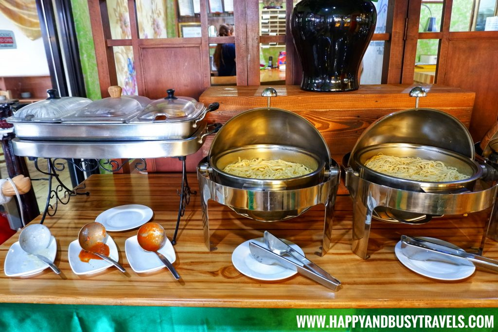Pasta Station D' Banquet Bakeshop and Restuurant Happy and Busy Travels to Tagaytay