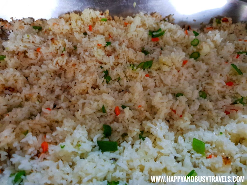 Vegetable Fried Rice D' Banquet Bakeshop and Restuurant Happy and Busy Travels to Tagaytay