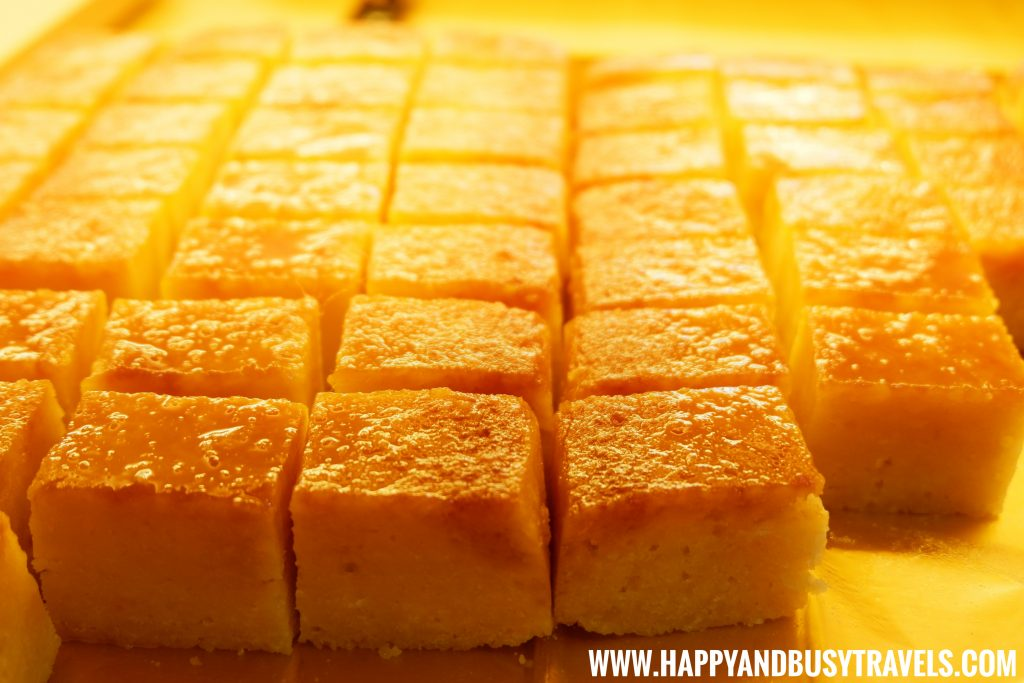 Cassava Squares D' Banquet Bakeshop and Restuurant Happy and Busy Travels to Tagaytay