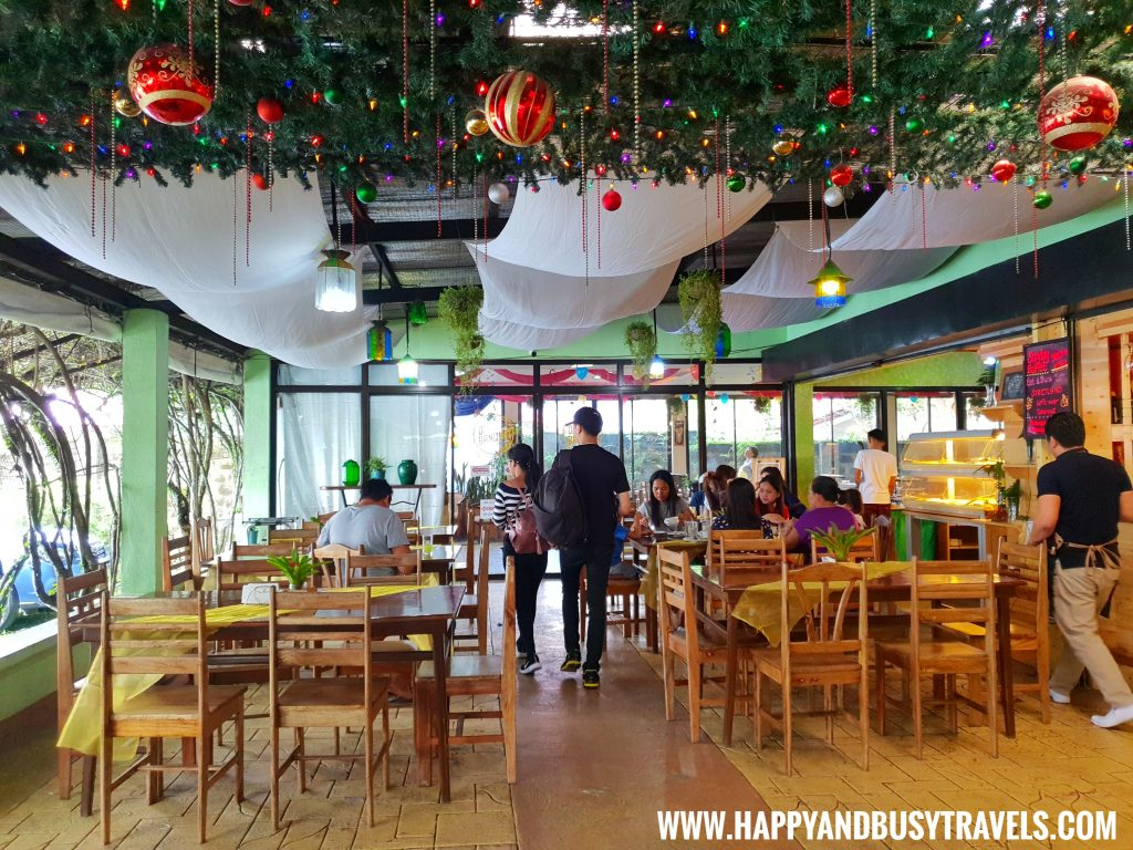 Dining Area D' Banquet Bakeshop and Restuurant Happy and Busy Travels to Tagaytay