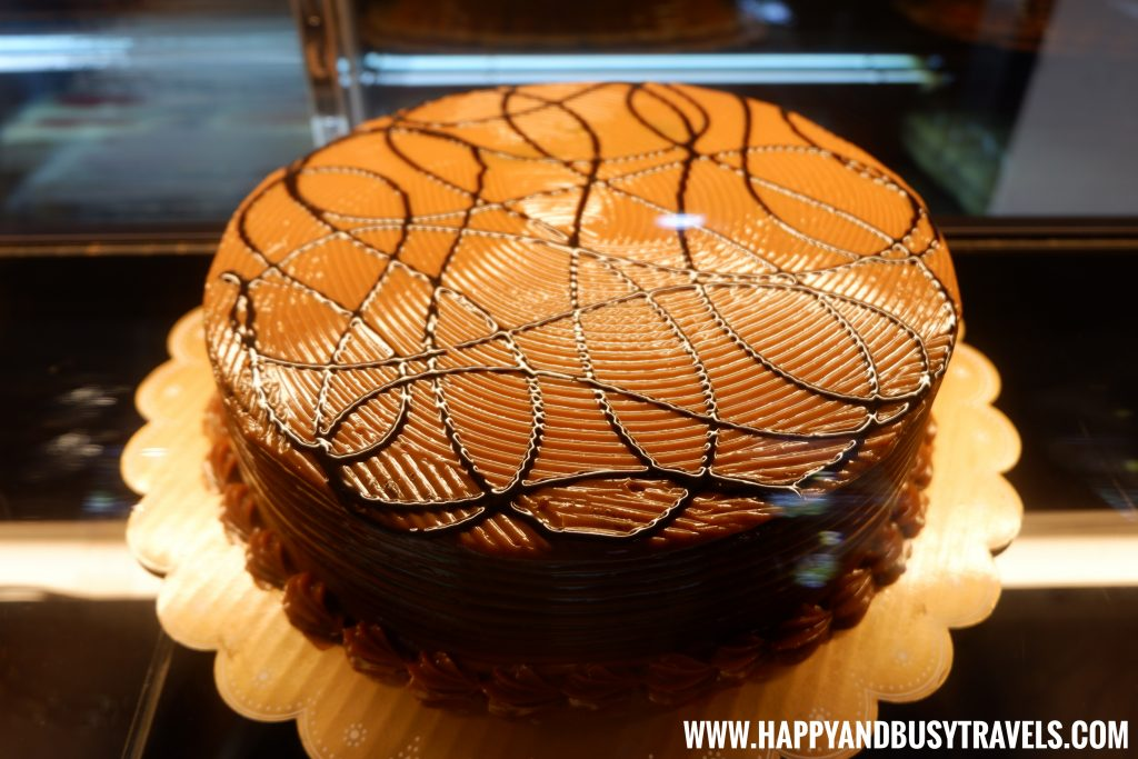 Amira's Chocolate Caramel Cake D' Banquet Bakeshop and Restuurant Happy and Busy Travels to Tagaytay