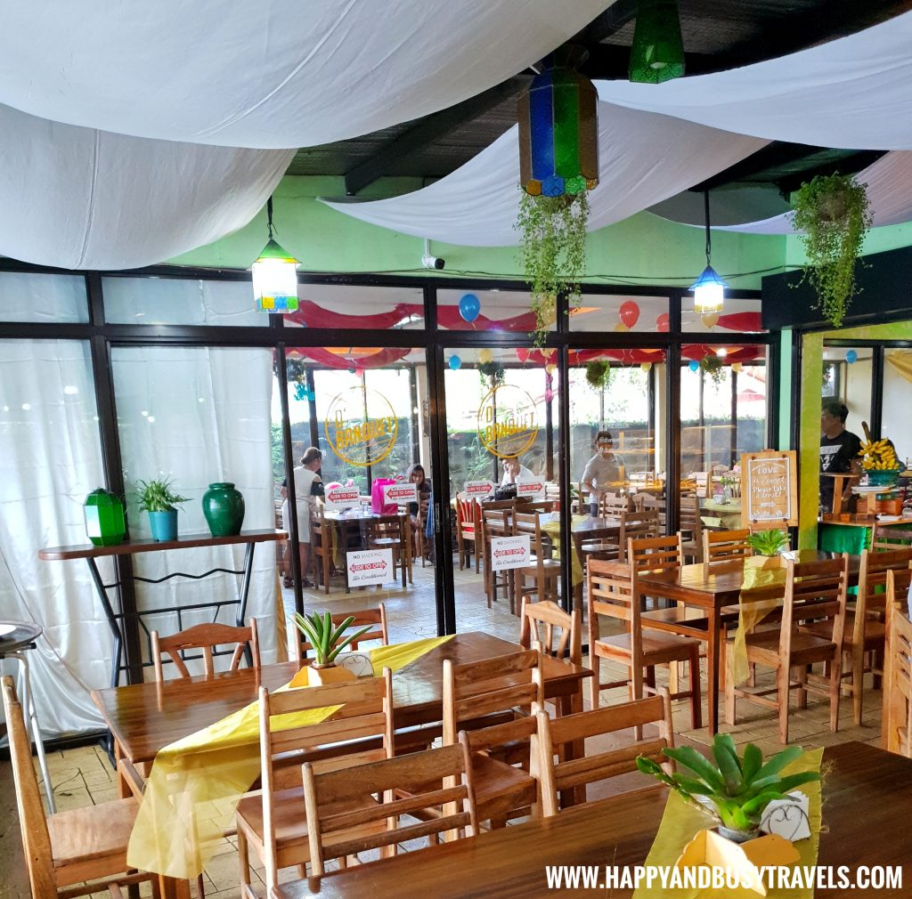 Air Conditioned Dining Area D' Banquet Bakeshop and Restuurant Happy and Busy Travels to Tagaytay