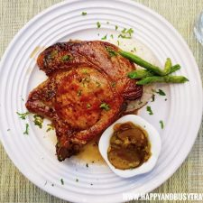 Herb de Provence Porkchop Deli de San Honore Happy and Busy Travels to Tagaytay