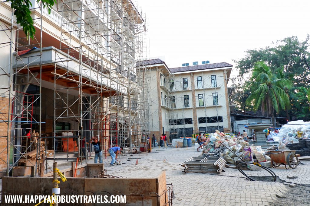 D Mall Under construction Boracay Island Now open to the public review of Happy and Busy Travels