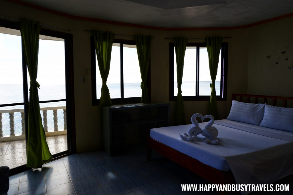 Upper floor of the Lighthouse Suite of Lanas Beach Resort Happy and Busy Travels to Carabao Island Romblon