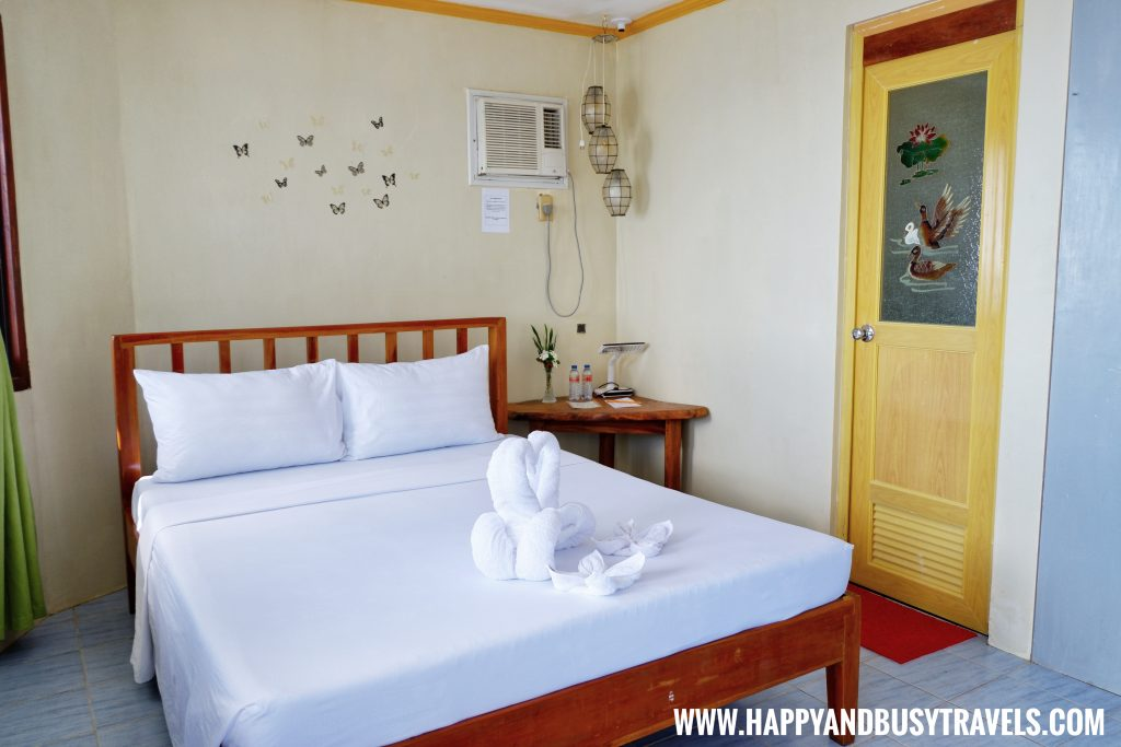 Double bed of the upper floor of the lighthouse suite of Lanas Beach Resort Happy and Busy Travels to Carabao Island Romblon