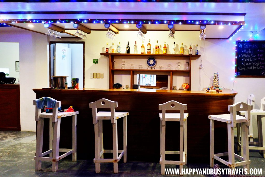 bar at night of Lanas Beach Resort Happy and Busy Travels to Carabao Island Romblon