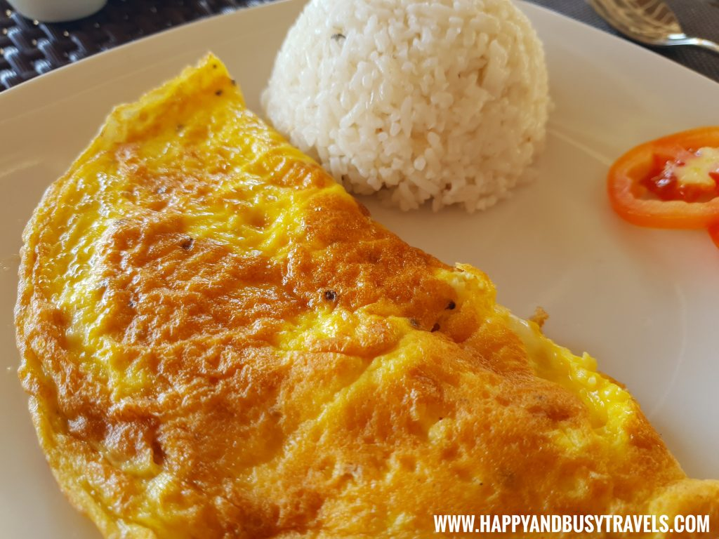 Breakfast Ham and Cheese Omelette Lanas Beach Resort Happy and Busy Travels to Carabao Island Romblon