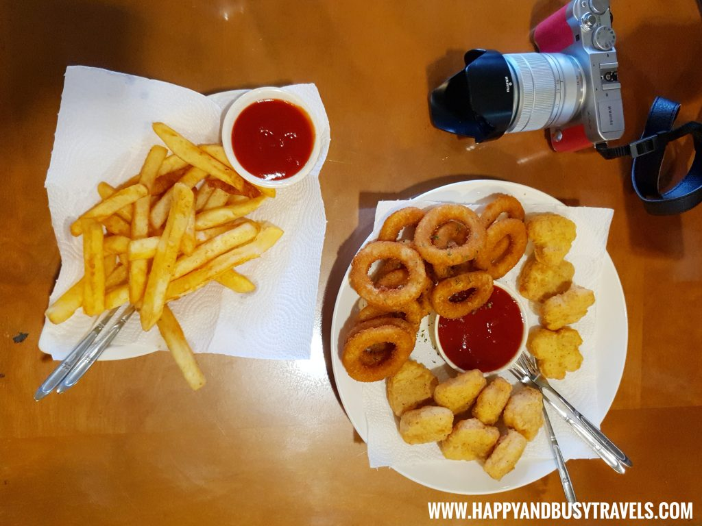 French Fries, Onion Rings, Chicken Nuggets of OIA Cafe, Alpaca Cafe, animal cafe - Happy and Busy Travels to Taiwan