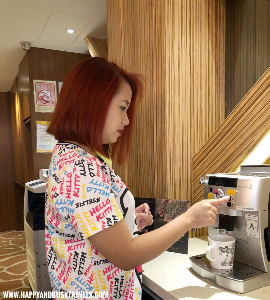unlimited coffee from Orange Hotel Kaifong Happy and Busy Travels to Taiwan