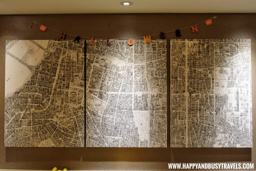 wall decor of Orange Hotel Kaifong Happy and Busy Travels to Taiwan