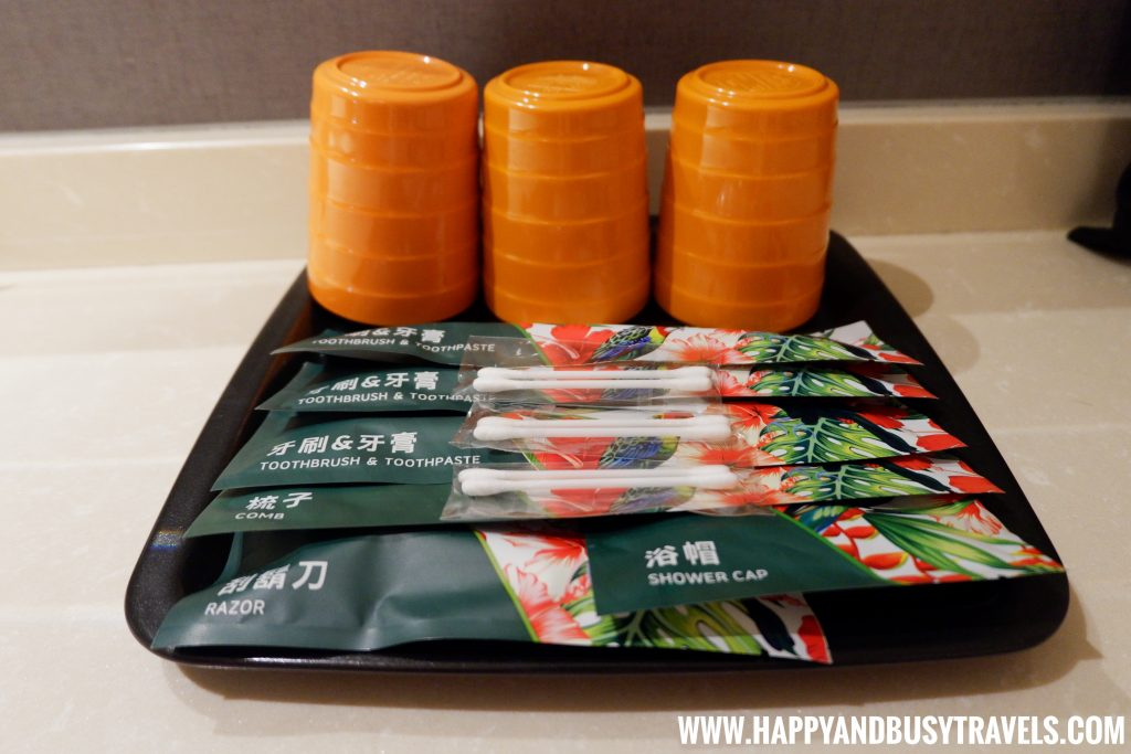 toiletries of Orange Hotel Kaifong Happy and Busy Travels to Taiwan