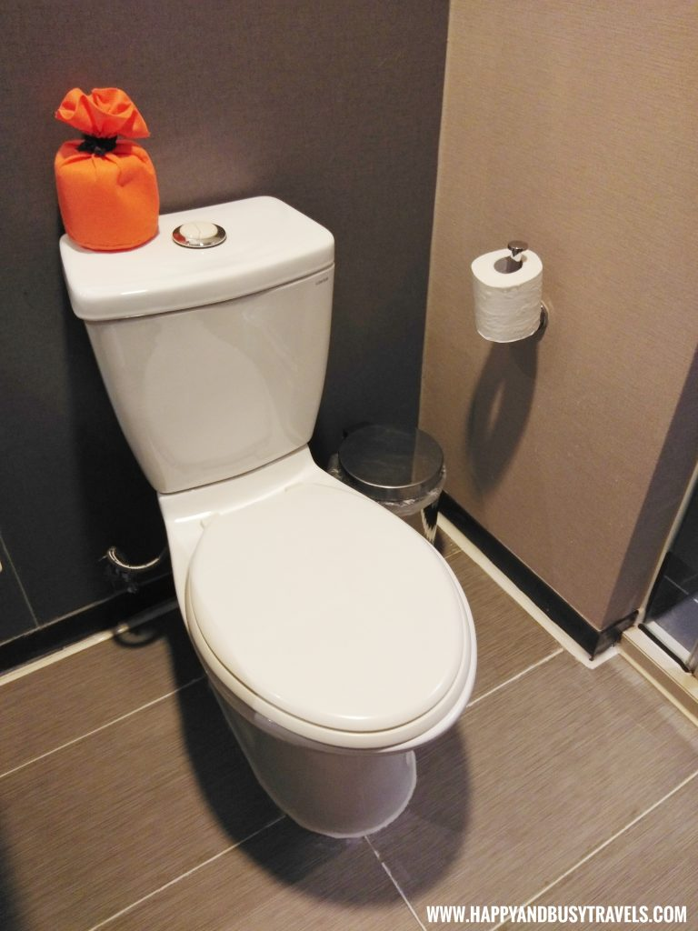 toilet bowl of Orange Hotel Kaifong Happy and Busy Travels to Taiwan