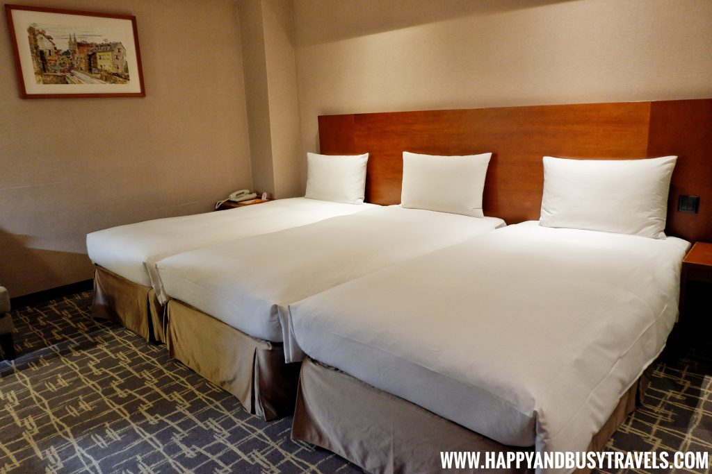 Triple Room of Orange Hotel Kaifong Happy and Busy Travels to Taiwan