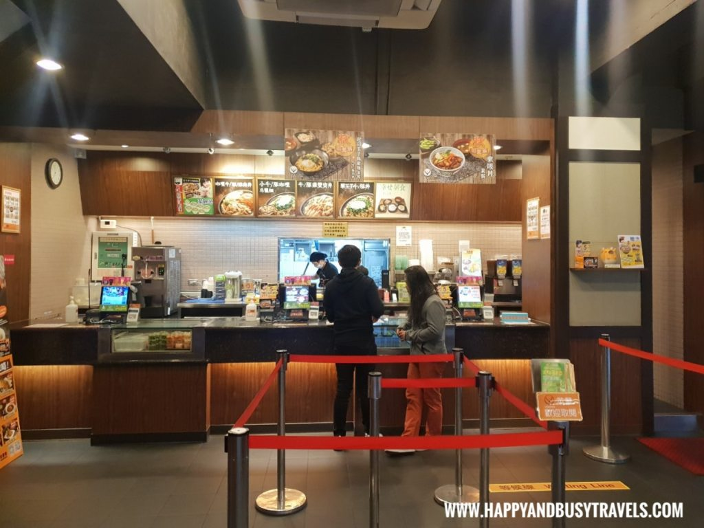 Yoshinoya Breakfast Orange Hotel Kaifong Happy and Busy Travels to Taiwan