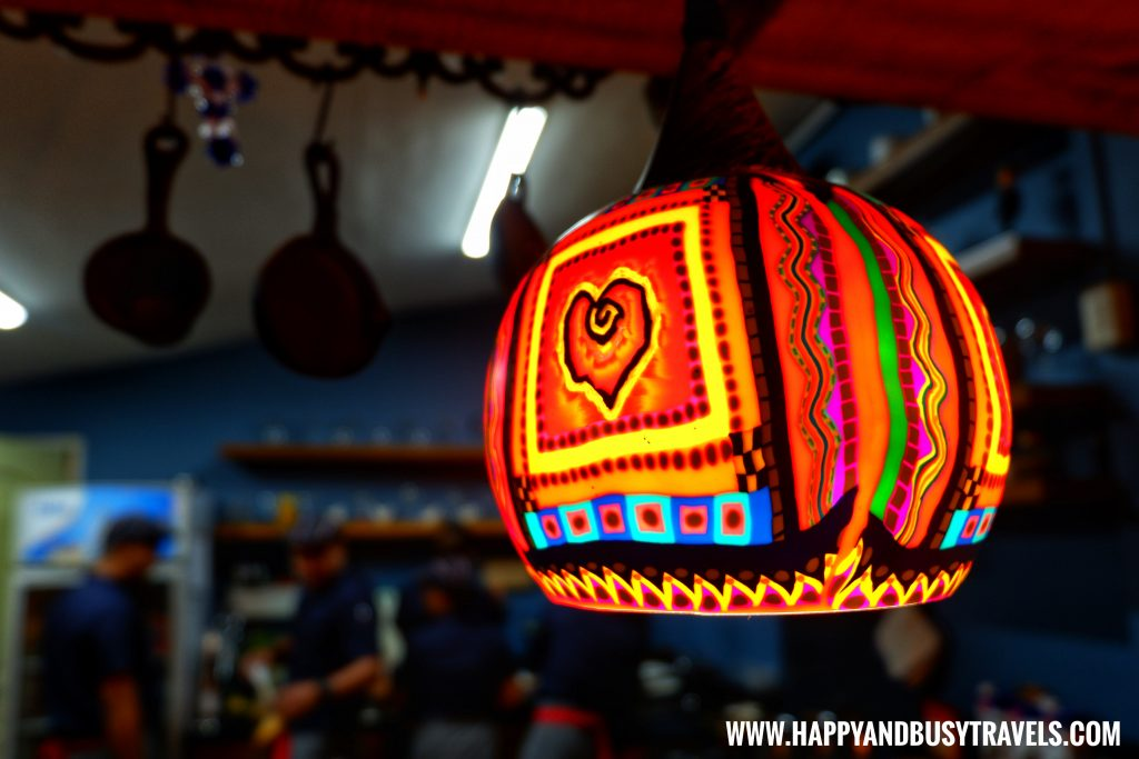 Light decorations of Chavez Estate review of Happy and Busy Travels to Tagaytay Silang Cavite