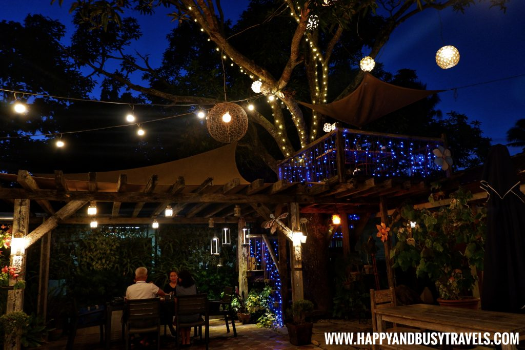 Tree house at night of Chavez Estate review of Happy and Busy Travels to Tagaytay Silang Cavite
