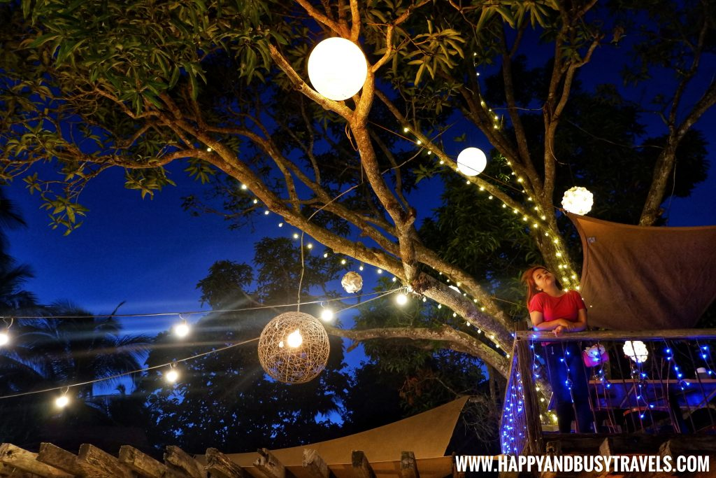 tree house at night Chavez Estate review of Happy and Busy Travels to Tagaytay Silang Cavite