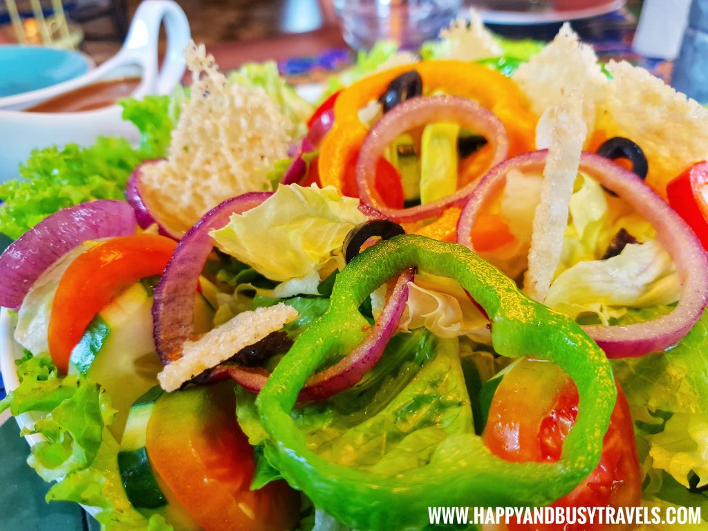 Chavez Estate Salad of Chavez Estate review of Happy and Busy Travels to Tagaytay Silang Cavite