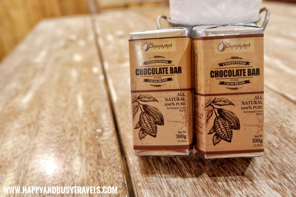 Chocolate Bar of Chavez Estate review of Happy and Busy Travels to Tagaytay Silang Cavite
