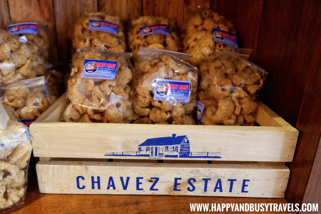 Chicharon of Chavez Estate review of Happy and Busy Travels to Tagaytay Silang Cavite