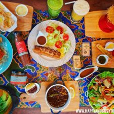 All of the food Chavez Estate review of Happy and Busy Travels to Tagaytay Silang Cavite
