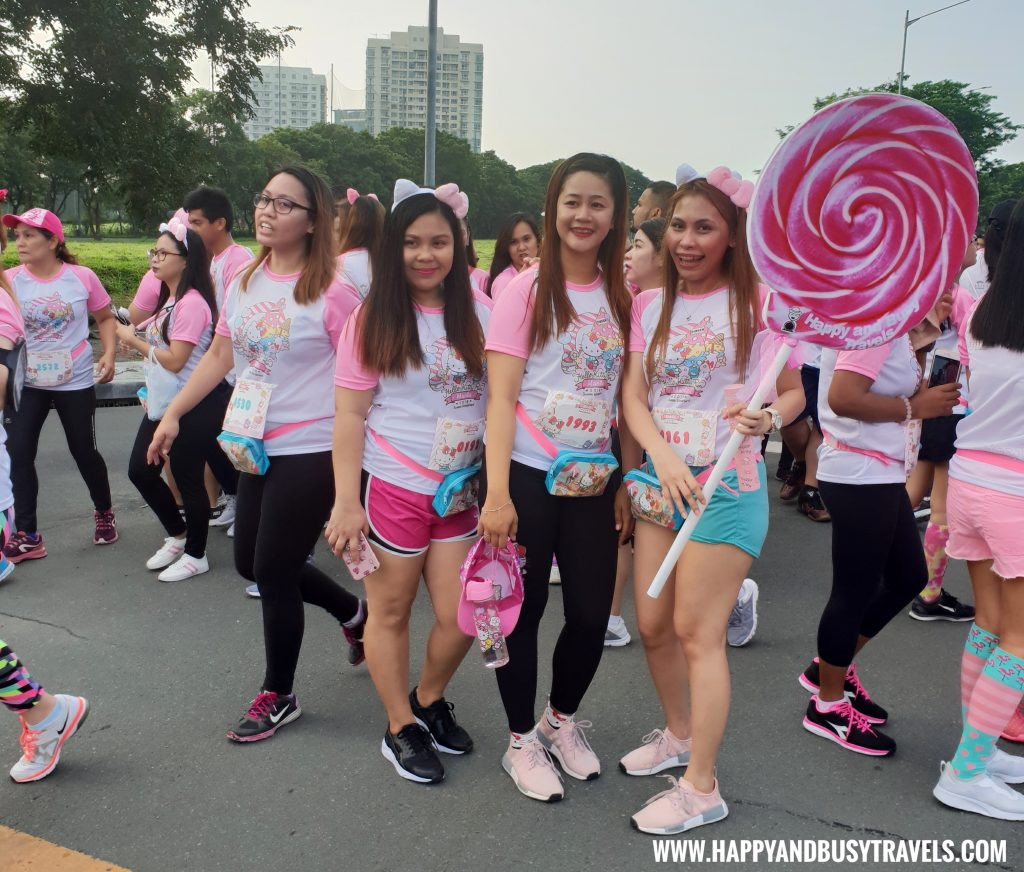 Hello Kitty Run Manila 2018 experience of Happy and Busy Travels