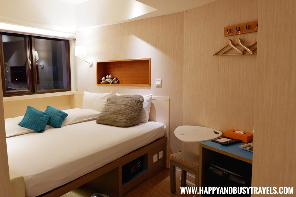 Standard Guestroom of Orange Hotel Ximen review of Happy and Busy Travels to Taiwan