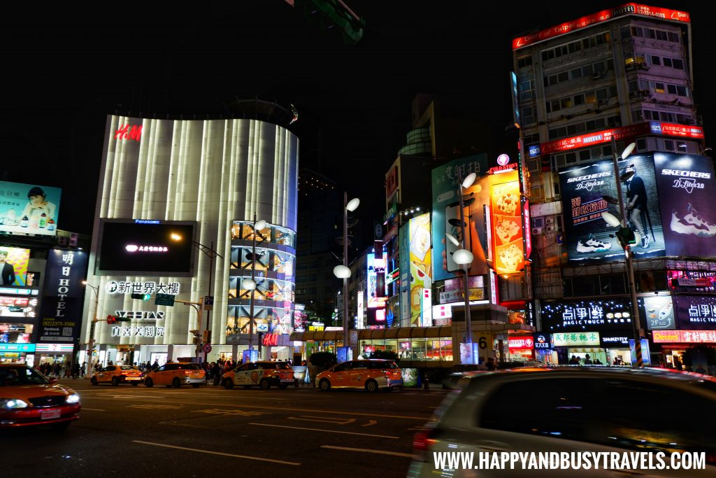 Ximending shopping district near Orange Hotel Ximen review of Happy and Busy Travels to Taiwan