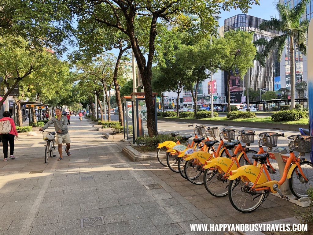 U Bike Terminal near Orange Hotel Ximen review of Happy and Busy Travels to Taiwan