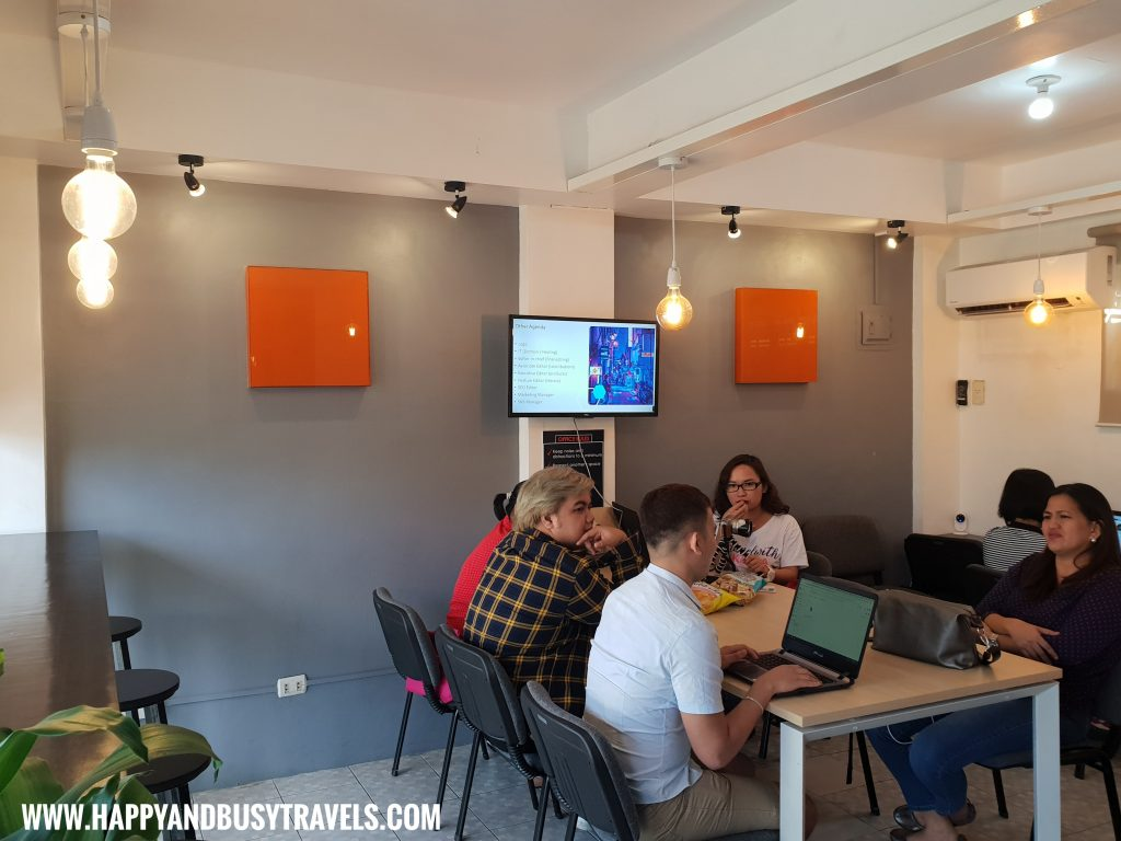 Coffice Workspace space for meetings, group study, workshops review of Happy and Busy Travels